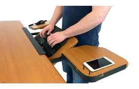 keyboard tray for glass desk keyboard tray for glass desk desk workstation under desk slide out