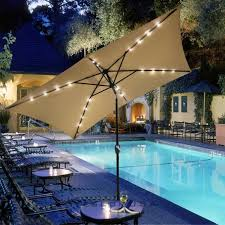 Backyard Umbrellas Large - furniture furniture rectangular patio umbrella for your outdoor