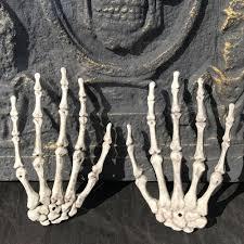 online get cheap halloween skeleton hands aliexpress com