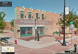 Winslow Arizona Map by Standing On A Corner In Winslow Arizona Rock And Roll Gps