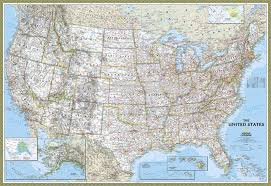 american map usa aliexpress buy painting on canvas national geographic