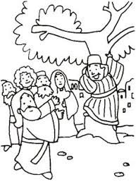 zacchaeus free coloring pages u2026 pinteres u2026