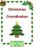 christmas tree coordinate drawing coordinate graphing mystery