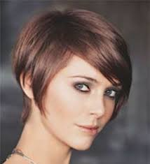 short hair with length at the nape of the neck short nape cheek bone length very long layers on top haircut