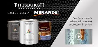 pittsburgh paints u0026 stains at menards