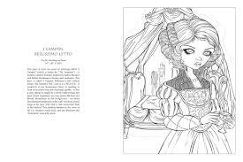 amazon com jasmine becket griffith halloween coloring book a
