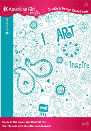amazon com american crafts doodle design sketchbook art