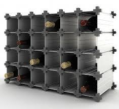 wine cube modular wine rack u2014 wine essentials