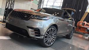 2018 range rover velar first design review live from nyautoshow