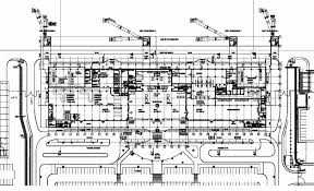 Airport Terminal Floor Plans by Réalisations Adpi