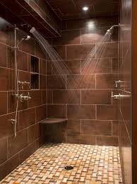 Bathroom Shower Ideas Pictures Colors Best 25 Brown Tile Bathrooms Ideas Only On Pinterest Master