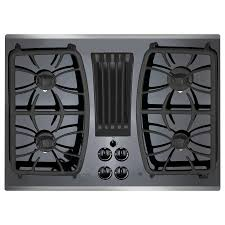 Wolf Downdraft Cooktop Shop Ge Profile Gas Cooktop With Downdraft Exhaust Stainless