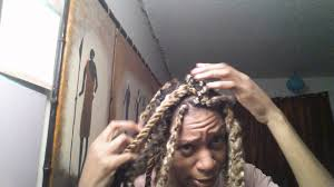 blonde marley crochet hair blonde marley twists hashtag hot mess youtube