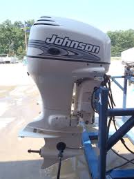 used 2001 johnson j90vlsif 90hp 2 stroke outboard boat motor 20