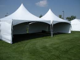 gazebo rentals 20 x 40 high peak frame tent with side walls rental awesome
