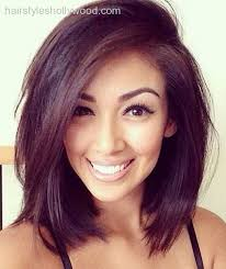 medium length hairstyle messy waves hair styles tips and