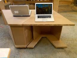 building a rolling computer desk martin wolskes weblog img00036