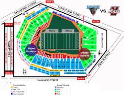 Umass Campus Map The Fenway Gridiron Series Umaine Football Vs Umass Umaine