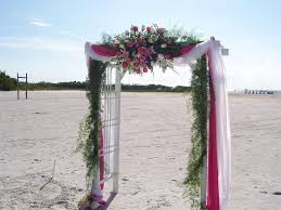wedding arch alternatives feels romantic wedding with wedding