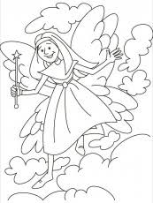 tooth fairy coloring page tooth fairy printable coloring sheet coloring home