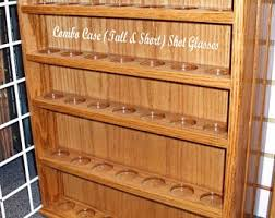 pint glass display cabinet shot glass display etsy