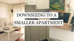 downsizing downsizing to a smaller apartment minimalism lia u0027s loft youtube