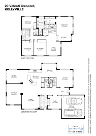 immaculate modern family home with in ground pool house floor plan