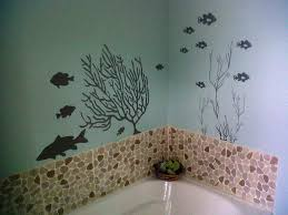 bathroom wall art ideas elegant white accents for wall clear glass