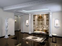 Modern Interior Design Romanesque Style Interior Design Ideas