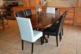 dining room chair slip covers beautiful parsons chair slipcovers in dining room mediterranean