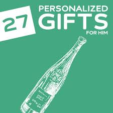 personalization items 27 thoughtful personalized gifts for him