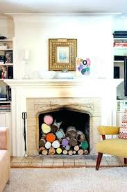 decorative fireplace ideas non working fireplace ideas ways to dress up your fireplace no fire