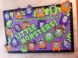 halloween bulletin board pre k elementary ed little monsters