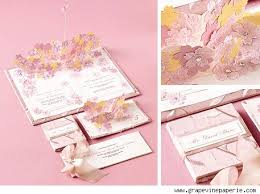 wedding pop up wedding invitations