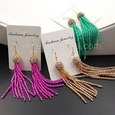 aliexpress buy new arrival 10pcs wholesale fashion wt e317 wholesale 10pcs tassel earrings fashion summer