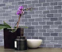 Brick Kitchen Design Ideas Tile Backsplash  Accent Walls - Porcelain backsplash