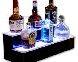 led lighted bar shelves 20 led lighted bar shelf for back bar or home by ledbaselineinc