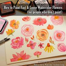 Image For Flowers Best 25 Watercolor Flowers Tutorial Ideas On Pinterest Painting