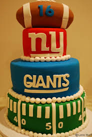 3 Tiered Halloween Cakes The Baking Sheet 3 Tier New York Giants Football Cake