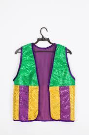 mardi gras vests mardi gras vest w purple gold stripes the mardi gras collections