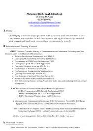 Wpf Developer Resume Sample by Resume Asp Net Web Developer Contegri Com