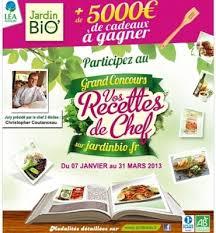 concours de cuisine jardin bio lance un concours de cuisine dans toute la