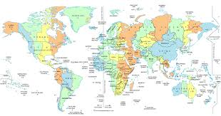 North American Time Zones Map by Ontimezone Com Time Zones For The Usa And North America Zone Map