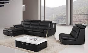 Brown Leather L Shaped Sofa Modern Leather L Shape Sofa