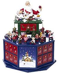 Animated Musical Christmas Decorations by Amazon Com Mr Christmas Animated Musical Advent House Home