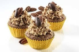 classic german chocolate cupcakes recipe german chocolate