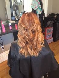 how to put red hair in on the dide with 27 pieceyoutube soft blonde highlights on natural red hair with beach waves