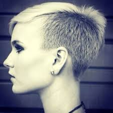 clipper cut hairstyles for women 98 best disconnected short hair images on pinterest hair cut