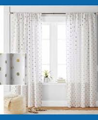 Shower Curtain To Window Curtain Appealing White And Gold Curtains To Complete Your Home Decoration