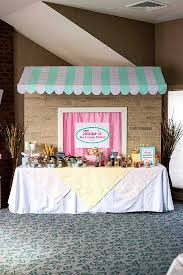 Dessert Table Backdrop by How To Make A Diy Awning And Table Backdrop For A Party